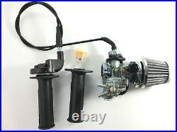 0Carburetor & Handle Bar Throttle Cable Air Filter For Honda CT90 1966-1979 Bike