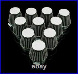 10 x Universal Motorcycle 60 mm Air Filter For Honda Kawasaki Suzuki Yamaha B1