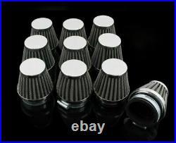 10x 50mm Universal Motorcycle Air Filter Pod For Honda Suzuki Kawasaki Yamaha B1