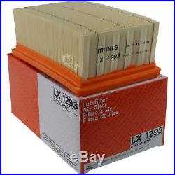 10x MAHLE / KNECHT Luftfilter LX 1293 Air Filter