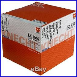 10x MAHLE / KNECHT Luftfilter LX 1892 Air Filter