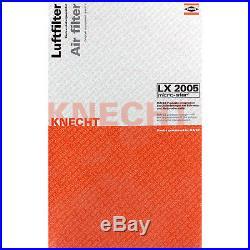 10x MAHLE / KNECHT Luftfilter LX 2005 Air Filter