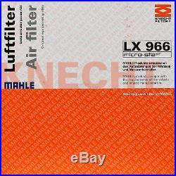 10x MAHLE / KNECHT Luftfilter LX 966 Air Filter
