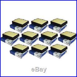 10x MAHLE / Knecht luftfilter lx 56 air filter