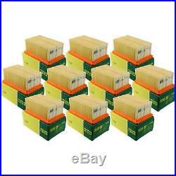 10x MANN-FILTER Luftfilter C 1320 Air Filter