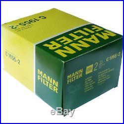 10x MANN-FILTER Luftfilter C 1955-2 Air Filter