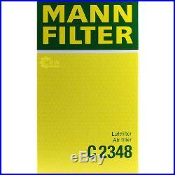 10x MANN-FILTER Luftfilter C 2348 Air Filter