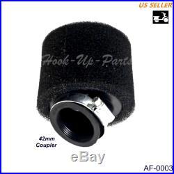42mm Air Filter for 250cc ATV Quad 4 Wheeler Dirt Bike Taotao gy6 150cc E5