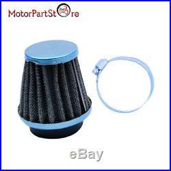 4PCS 48mm Steel Pod Air Filter Cleaner For PIT PRO Quad Dirt Bike ATV Dune Buggy