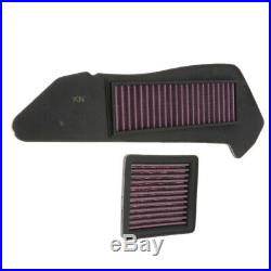 4Pcs Motorcycle Air Cleaner Filter Intake for YAMAHA X-MAX250 X MAX LW08