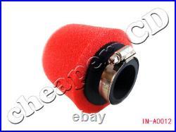 5pcs 35mm Red Foam Air Filter Fit for CRF50 XR50 Motorcycle ATV Motor bike