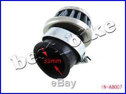 5pcs Air Filter Cleaner 35mm for 125 110cc 90cc 70cc 50cc ATV Go Kart Dirt Bike
