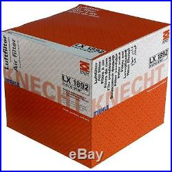 5x MAHLE / KNECHT Luftfilter LX 1892 Air Filter
