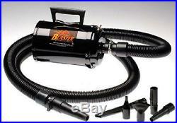 Air Force Blaster Bonus- 3 Extra Filters! Metro Vac Car Motorcycle Dryer Mod
