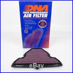 Air filter DNA Kawasaki motorcycle Z 1000 Zr 2010 2011 2012 2013 Neu