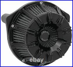 Arlen Ness Inverted Series Air Cleaner Kits 10-Gauge Black 600-010