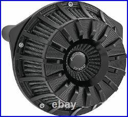 Arlen Ness Inverted Series Air Cleaner Kits 15-Spoke Black 18-991