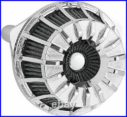 Arlen Ness Inverted Series Air Cleaner Kits 15-Spoke Chrome 18-996