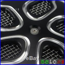 Black Motorcycle Air Filter Intake Twin Cleaner Kit For Suzuki Boulevard M109