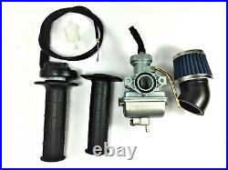Carburetor & Handle Bar, Throttle Cable Air Filter Honda XR80 1979-2004 Mini Bike