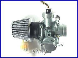 Carburetor carb & Air Filter For Yamaha RT100 1990-2000 Dirt Bike Hand Choke