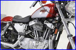 Chrome Wyatt Gatling Air Cleaner Assembly, fits Harley Davidson motorcycle models