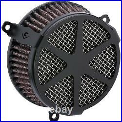 Cobra 606-0104-04B Air Cleaner Kit, Spoke Black Harley-Davidson Softail Lo