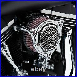 Cobra 606-0104-05 RPT Air Intake, Chrome/Chrome Harley-Davidson Softail Delu