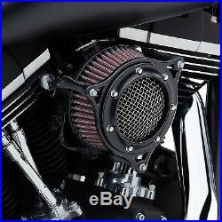 Cobra 606-0104-05B RPT Air Intake, Black/Black Harley-Davidson Softail Low R