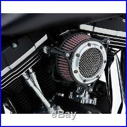 Cobra 606-0104-05CB RPT Air Intake, Chrome/Black Harley-Davidson Softail Del