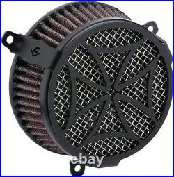 Cobra Motorcycle Air Cleaner Kit For 18-19 FXBB/FXLR/FLSL/FLDE/FLSB Cross Black
