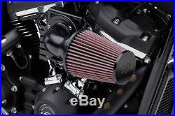Cobra Motorcycle Cone Air Intake For 8-16 FLHT/FLHR/FLHX/FLTR/HD FL Trike Black