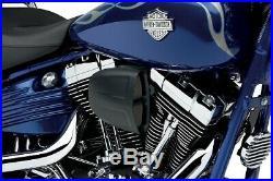 Cobra Motorcycle Powrflo Air Intake For 04-19 XL WithCV Carb/Delphi EFI Black