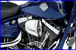 Cobra Motorcycle Powrflo Air Intake For 04-19 XL WithCV Carb/Delphi EFI Chrome