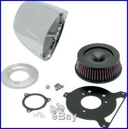 Cobra Motorcycle Powrflo Air Intake For 08-16 FLHT/FLHR/FLHX/FLTR Chrome