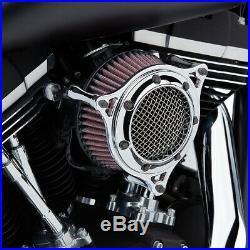 Cobra Motorcycle Powrflo Air Intake For 18-19 FXBB/FXLR/FLSL/FLDE/FLSB Chrome