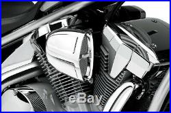 Cobra Motorcycle Powrflo Air Intake For Honda VTX1300C/R/S/T 03-09 Chrome