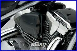 Cobra Motorcycle Powrflo Air Intake For Kawasaki VN900 06-19 Black