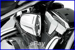 Cobra Motorcycle Powrflo Air Intake For Kawasaki VN900 06-19 Chrome
