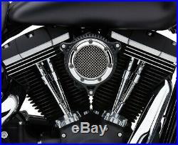 Cobra Motorcycle RPT Air Intake 08-16 FLHT/FLHR/FLHX/FLTR/HDFL Trike Chrome Ring