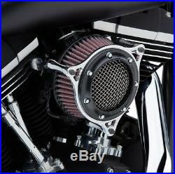 Cobra Motorcycle RPT Air Intake For 04-19 XL WithCV Carb/Delphi EFI Black Anello