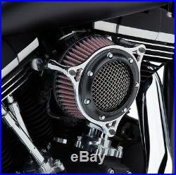 Cobra Motorcycle RPT Air Intake For 18-19 FXBB/FXLR/FLSL/FLDE/FLSB Black/Chrome