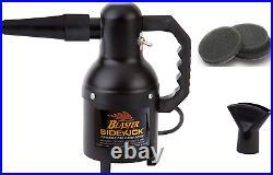 Includes 3 Extra Filters Metro Vac Air Force Blaster Sidekick Motorcycle Dryer