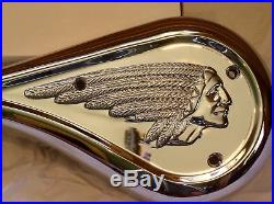 Indian Motorcycle Air Cleaner Cover NEW CHROME OEM#07-800 New from IMC Gilroy