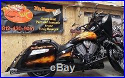 Indian Motorcycle Chief Chieftain Dark Horse Intake Polaris Air Filter 2014 +