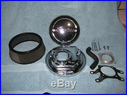 Indian Motorcycle Thunderstroke 111 Chrome Hi FlowithHi Perf Air Filter Kit