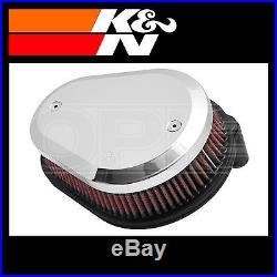 K&N Custom Air Filter Assembly for Various Harley Davidson Motorcycles RK-3932