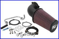 K&N Engine Cold Air Intake Performance Kit XL1200C Sportster 1200 Custom, XL1200L
