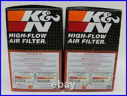 K&N HA-1000 Replacement Air Filter For 1981-1982 Honda XR500R Motorcycle 2x BNIB