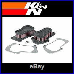 K&N Motorcycle Air Filter Fits Suzuki SU-1806